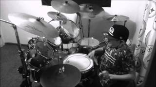 Tinie Tempah ft  Eric Turner - Written in the Stars - Drum Cover