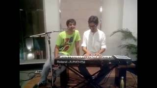 """Pehla Nasha  """"THE MOST ROMANTIC SONG"""" cover by ashish live at amanora"""