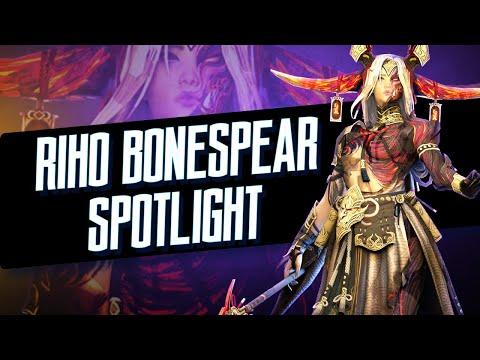 Champion Spotlight : Riho Bonespear I Raid Shadow Legends