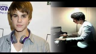 One Time - Justin Bieber (Music Video) - Yoonha Hwang Piano Acoustic Cover with lyrics (Official)