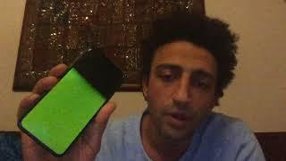 Iphone x green screen ERROR!!