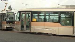 Tramvaje VarioLFplus od společnosti PRAGOIMEX a.s.