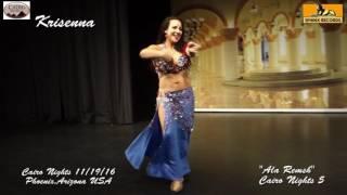 "Krisenna  dancing to ""Ala Remsh"" Cairo Nights in Phoenix"