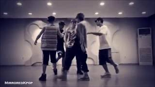 BEAST/B2ST - Not Me Mirrored Dance Practice