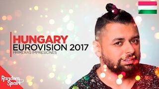Eurovision 2017 Hungary | Pápai Joci - Origo [PI]