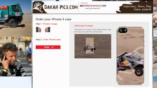 Dakar pictures on your on your i-phone cover