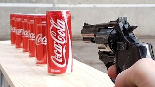 EXPERIMENT GUN vs COCA COLA