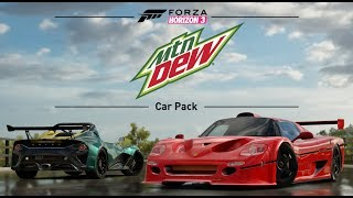 Forza Horizon 3 Official Mountain Dew Car Pack Trailer (June 2017) Xbox One/Windows 10