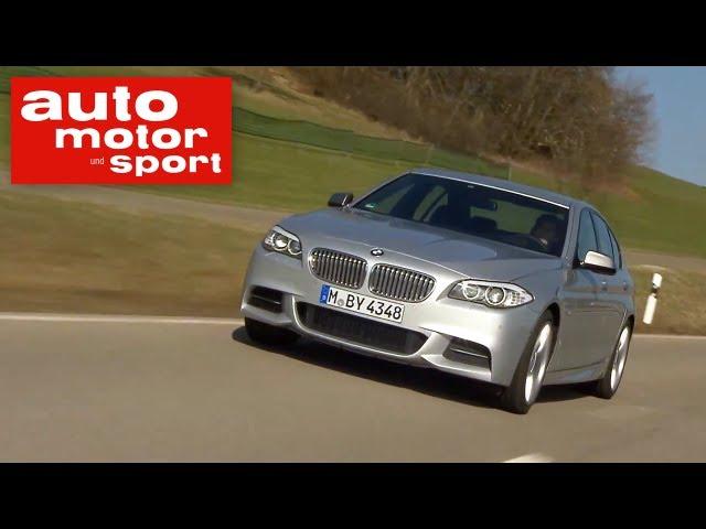 Fahrbericht BMW M550d xDrive