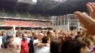 Kasabian Club Foot Live Millennium Stadium Cardiff 12th June 2009