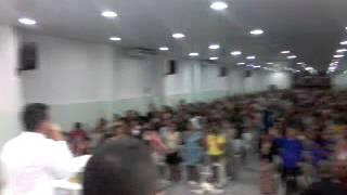 Assembleia de Deus Novas de Paz/ Vigília no cenáculo da Av.Cruz Cabuga com o Pastor Flávio Alves.