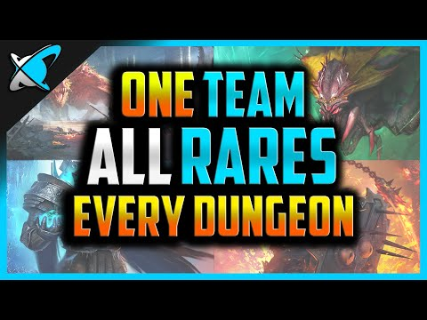 ONE TEAM... *ALL RARES*...ALL DUNGEONS ?! | Challenge for everyone! | RAID: Shadow Legends