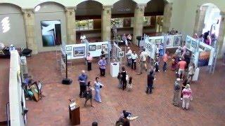 AHA ALOHA SHOW Exhibition at Honolulu Hale (City Hall) Hawaii 3-31-2016