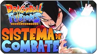DRAGON BALL FUSIONS 3DS TRAILER | SISTEMA DE COMBATE | CUSTEM