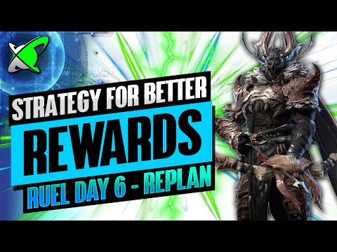 NEW STRATEGY FOR BETTER REWARDS!? | Ruel The Huntmaster Day 6 | BGE's Guides | RAID: Shadow Legends