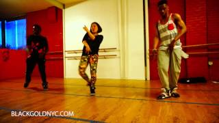 Popcaan Everything Nice - BLACKGOLD Dancehall Class NYC