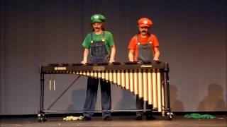 Super Mario Bros Theme Song on Marimba