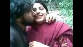 pashto local boy and girl hot kissing   in home movie width=