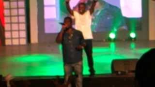 Shocking!! Castro comes on stage to do praises and worship.