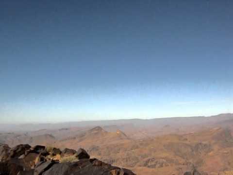 Trekking in the Jebel Sahro, Morocco