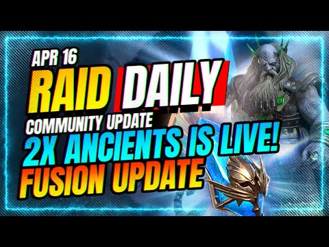 2x ANCIENTS LIVE! Daily Wrap-Up! | RAID Shadow Legends