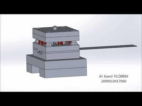 Sac Metal Kalıp Tasarımı Animasyon
