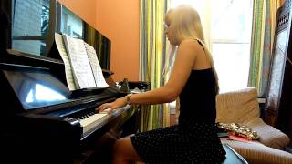 Lara plays Castlevania on piano, 'Bloody Tears'