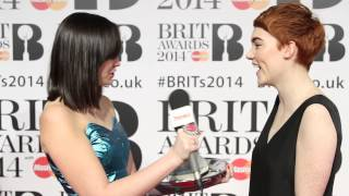 Chloe Howl swore at the Arctic Monkeys in a taxi! Brit Awards 2014 Trainer of Truth