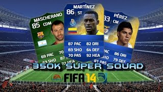 350k Super Squad FT  Martinez, Perez and Ibarbo