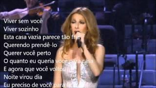 Celine Dion - Open Arms - Traduzido