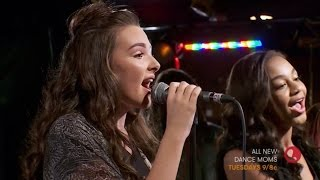 "Dance Moms | Nia And Kendall Sing ""Cry"" Live"