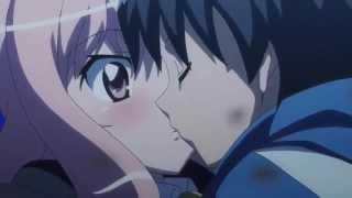 Saito Kisses Louise On The Dragon!
