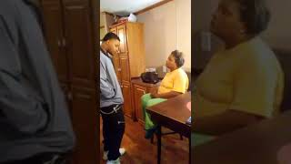 Man raps to his mother about his feelings width=