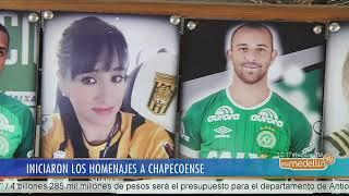Iniciaron homenajes al primer año de la tragedia de Chapecoense [Noticias] - Telemedellín