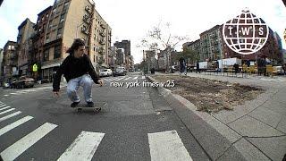 New York Times v.25   TransWorld SKATEboarding