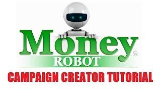 Money Robot SEO Campaign Creator Video Tutorial