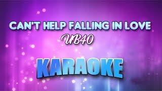 UB40 - Can't Help Falling In Love (Karaoke version with Lyrics)