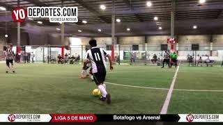 Botafogo vs Arsenal Liga 5 de Mayo Viernes
