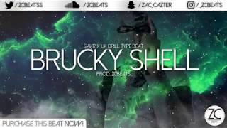 "Sav12 x UK Drill Type Beat ""Brucky Shell"" [Russ - Get The Strap Instrumental] (Prod. ZCBeats)"