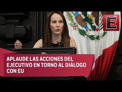 TOMAR DECISIONES ESTRATÉGICAS PARA AFRONTAR CRISIS CON EU: GABRIELA CUEVAS