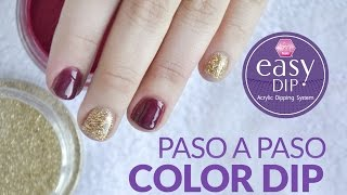 Como aplicar los Color Dip de Easy Dip por Laura Guzmán / Magic Kristal Nails®