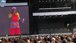 Tyler, The Creator Roasts Fan who throws Shoe (Lollapalooza 2018 @ Grant Park)