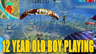 12 years old Indian boy Gameplay|| Free fire youngest pro player in india|| Run Gaming Tamil