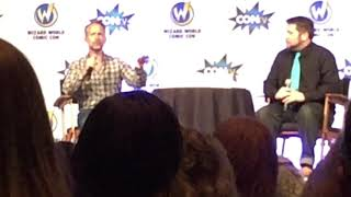 Billy Boyd Wizard World Panel Excerpt on Singing the Last Goodbye