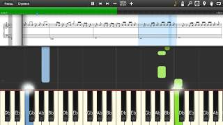 T-Pain - 5 O'Clock ft. Wiz Khalifa, Lily Allen - Piano tutorial and cover (Sheets + MIDI)