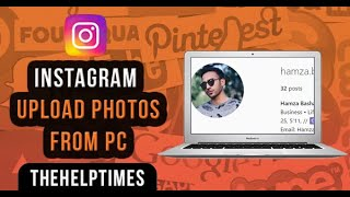 How to add images to instagram from computer videos / InfiniTube