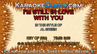 Al Green - I'm Still In Love With You (Backing Track)