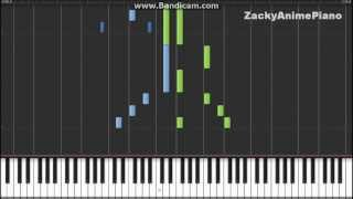 White Album 2 ED3 - Sayonara no koto - Synthesia (Piano) (ZackyAnimePiano)