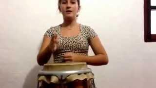 Cigana Esmeralda -Autoria de Arlindo Leopoldino - Na Voz, Tamires Reis - No Atabaque Yasmin Said.