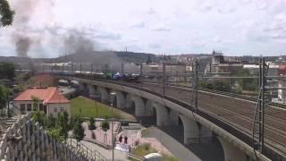Parní lokomotivy v Praze